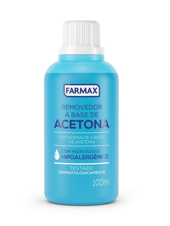 Removedor de Esmalte Farmax 100 ml