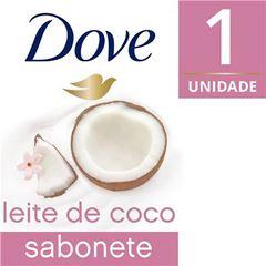 Sabonete Barra Dove Delicious Care 90 gr Leite de Coco