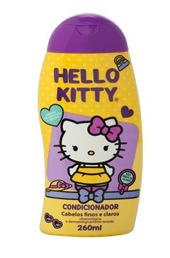 Condicionador Infantil Hello Kitty 260 ml Finos e Claros