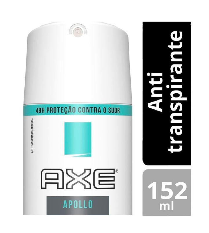 Desodorante Aerosol Axe Antitranspirante 152 ml Apollo