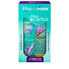 Kit Novex + Revitay Meus Cachos Shampoo e Condicionador 300ml