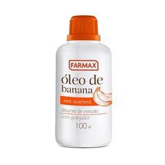 Oleo de Banana Farmax 100 ml