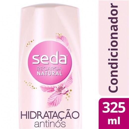 Condicionador Seda Recarga Natural 325 ml Hidratacão Antinos