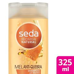 Shampoo Seda Recarga Natural 325 ml Mel Anti-Quebra