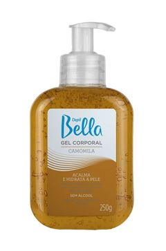 Gel Corporal Depil Bella 250 gr Camomila