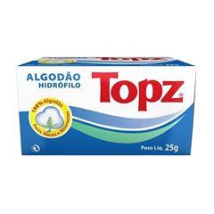 Algodão Topz Hidrofilo 25 gr