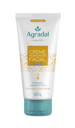 Creme Facial Hidratante Agradal 60 gr