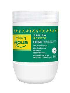 Creme de Massagem D Agua Natural 650 gr Arnica Sports