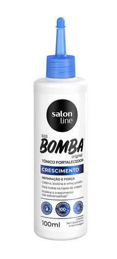 Tonico Fortalecedor Salon Line S.O.S Bomba 100 ml Crescimento Acelerado