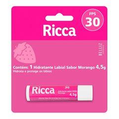 PROT LABIAL RICCA 4.5 GR FPS 30 MORANGO