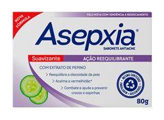 Sabonete Asepxia 80 gr Suavizante