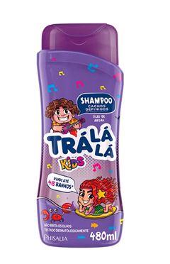 Shampoo Tra La La Kids 480 ml Eu Amo Cachos