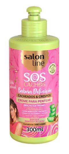 Creme para Pentear Salon Line 300 ml Hidratacão e Brilho